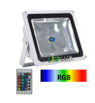 Projector LED RGB 60W 1980Lm 120º IR IP40