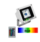 Projector LED RGB 10W 350Lm 120º IR IP40